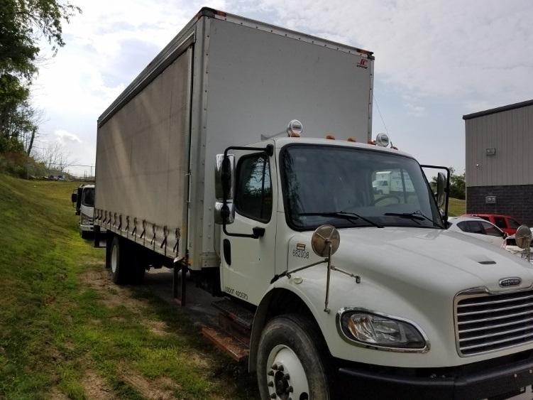 Medium Duty Box Truck-Light and Medium Duty Trucks-Freightliner-2014-M2-PITTSBURGH-PA-56,671 miles-$50,250