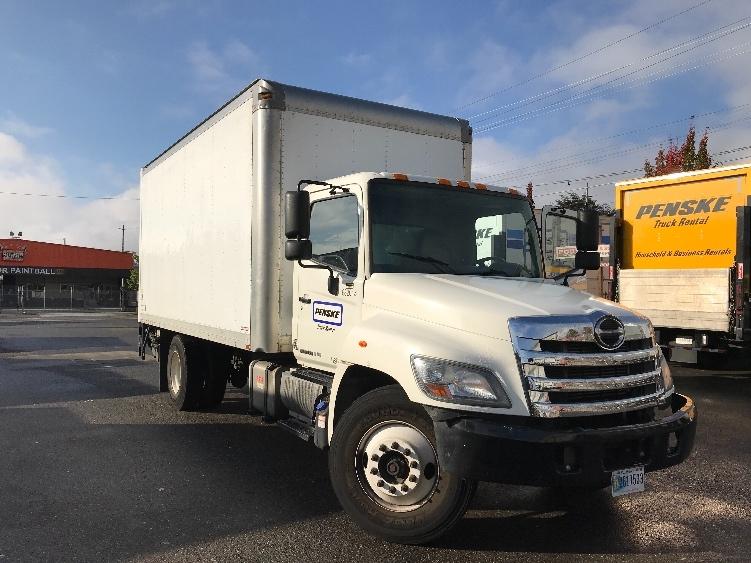 Medium Duty Box Truck-Light and Medium Duty Trucks-Hino-2014-268-TUKWILA-WA-185,816 miles-$37,750