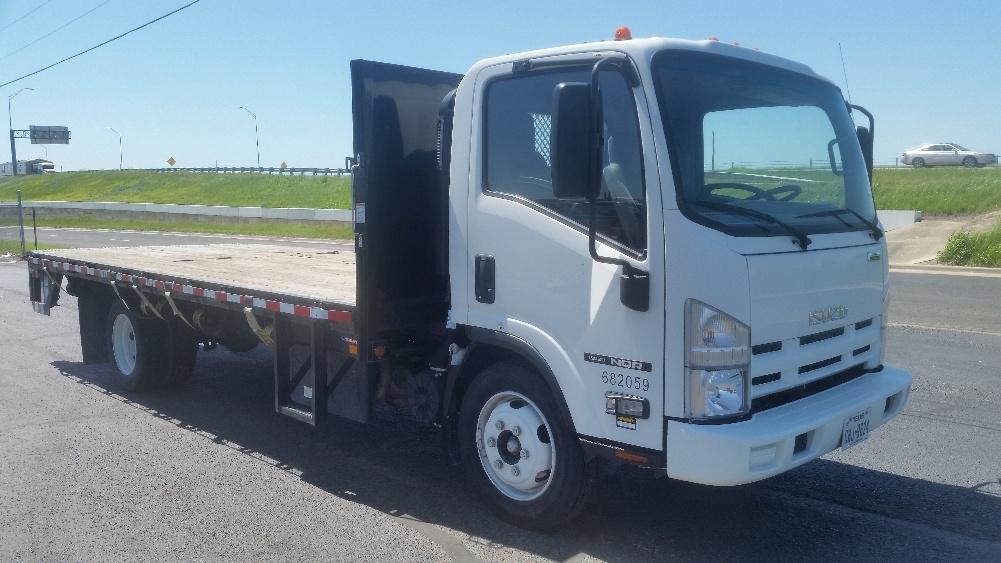 Flatbed Truck-Light and Medium Duty Trucks-Isuzu-2014-NQR-AUSTIN-TX-10,080 miles-$44,250