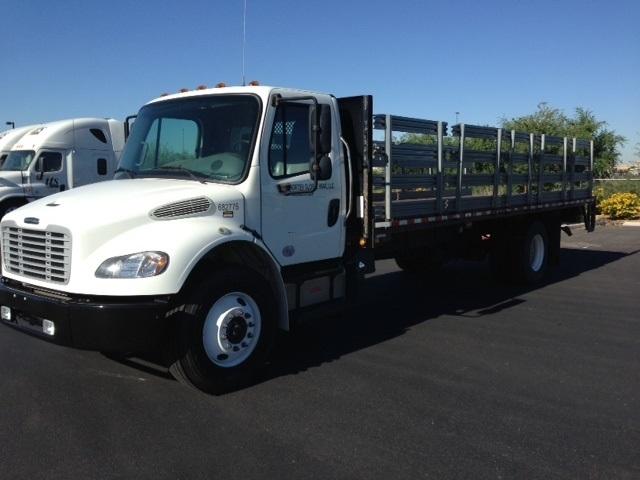 Flatbed Truck-Light and Medium Duty Trucks-Freightliner-2014-M2-PHOENIX-AZ-56,514 miles-$59,250