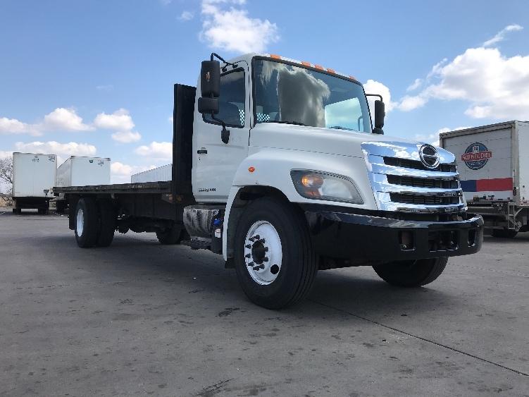 Flatbed Truck-Light and Medium Duty Trucks-Hino-2014-268-WICHITA-KS-103,151 miles-$60,750