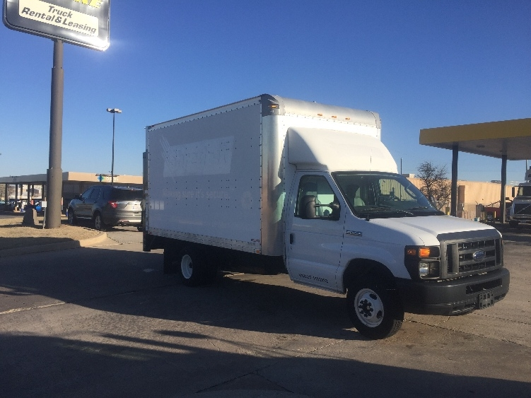 Light Duty Box Truck-Light and Medium Duty Trucks-Ford-2013-E450-OKLAHOMA CITY-OK-34,359 miles-$27,500