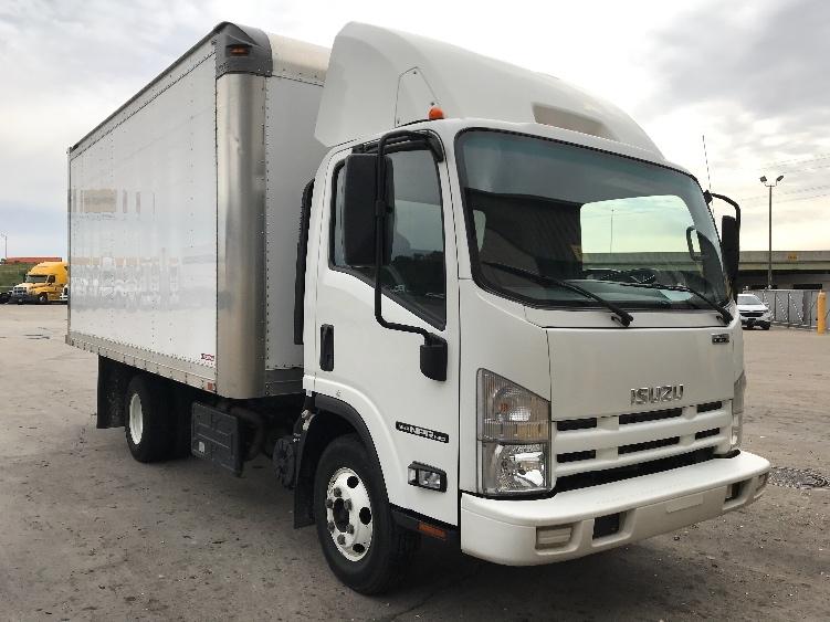 Medium Duty Box Truck-Light and Medium Duty Trucks-Isuzu-2014-NPR-INDIANAPOLIS-IN-130,678 miles-$30,750