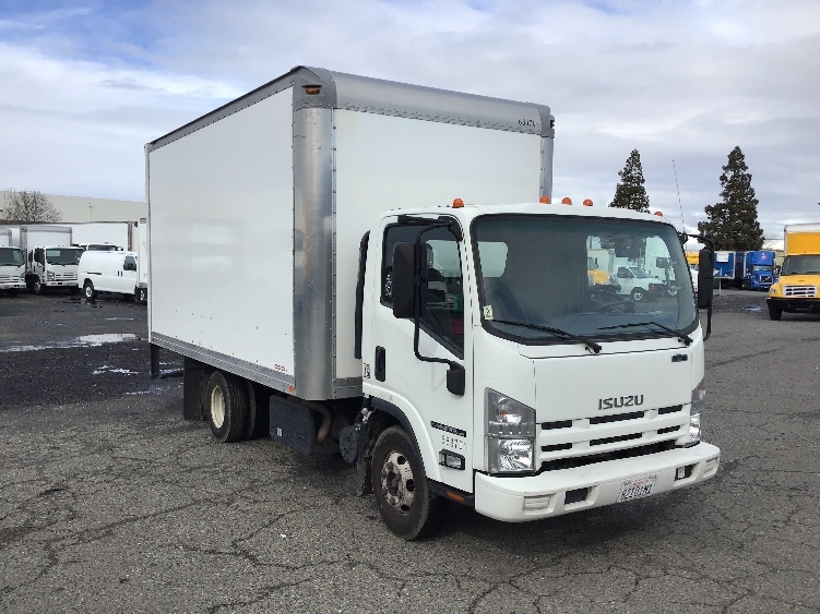 Medium Duty Box Truck-Light and Medium Duty Trucks-Isuzu-2014-NPR-WEST SACRAMENTO-CA-77,227 miles-$30,000