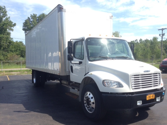 Medium Duty Box Truck-Light and Medium Duty Trucks-Freightliner-2014-M2-WEBSTER-NY-71,836 miles-$57,500
