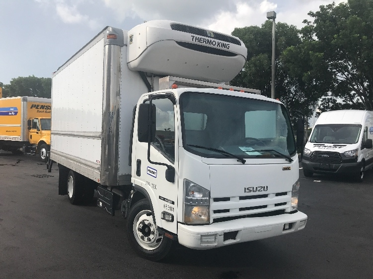 Reefer Truck-Light and Medium Duty Trucks-Isuzu-2014-NQR-MEDLEY-FL-146,568 miles-$35,250