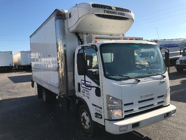 Reefer Truck-Light and Medium Duty Trucks-Isuzu-2014-NQR-ORLANDO-FL-132,880 miles-$42,500