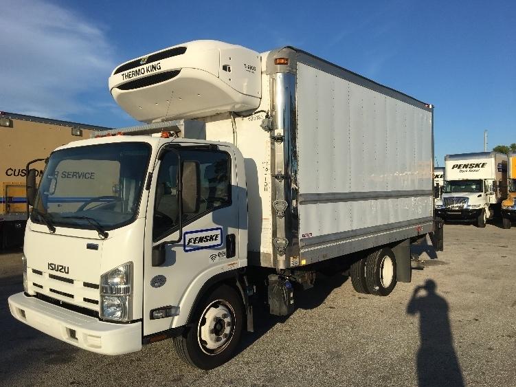 Reefer Truck-Light and Medium Duty Trucks-Isuzu-2014-NQR-POMPANO BEACH-FL-144,921 miles-$35,750