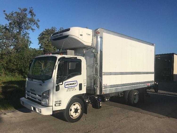 Reefer Truck-Light and Medium Duty Trucks-Isuzu-2014-NQR-ORLANDO-FL-106,110 miles-$45,250