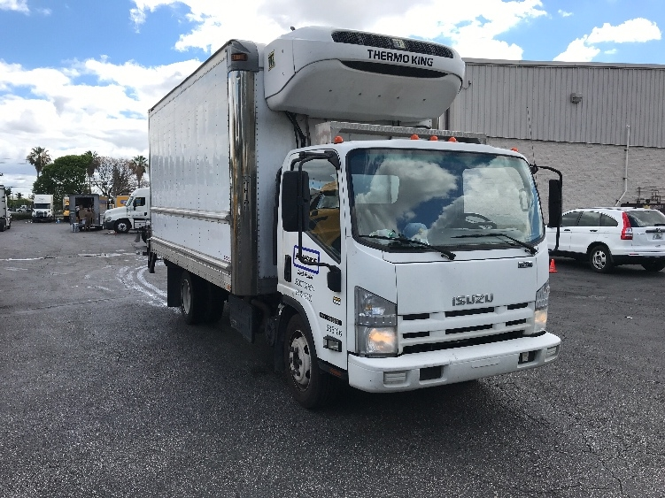 Reefer Truck-Light and Medium Duty Trucks-Isuzu-2014-NQR-MEDLEY-FL-170,217 miles-$33,500