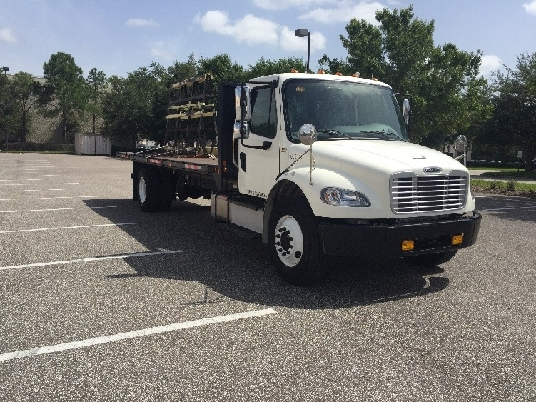 Flatbed Truck-Light and Medium Duty Trucks-Freightliner-2014-M2-TAMPA-FL-49,825 miles-$66,000