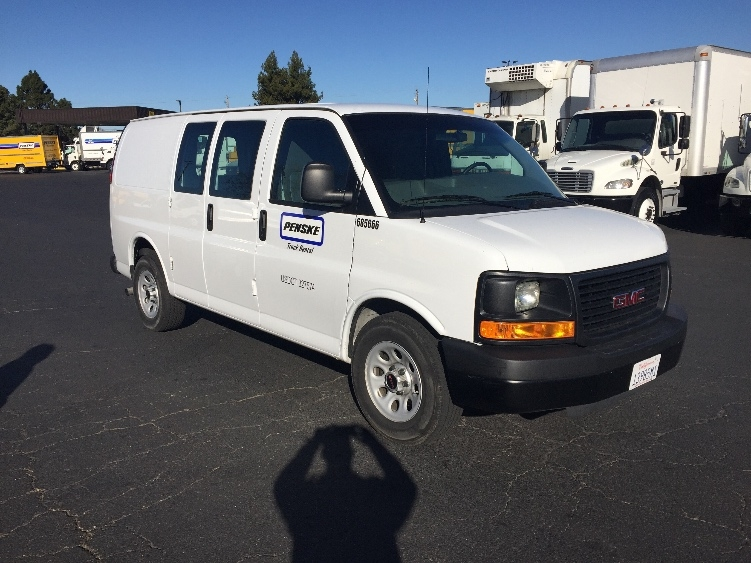 Cargo Van (Panel Van)-Light and Medium Duty Trucks-GMC-2014-Savana G13405-HAYWARD-CA-21,212 miles-$25,750