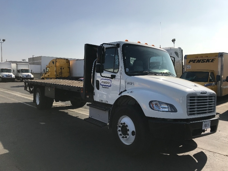 Flatbed Truck-Light and Medium Duty Trucks-Freightliner-2014-M2-LOS ANGELES-CA-37,673 miles-$53,500
