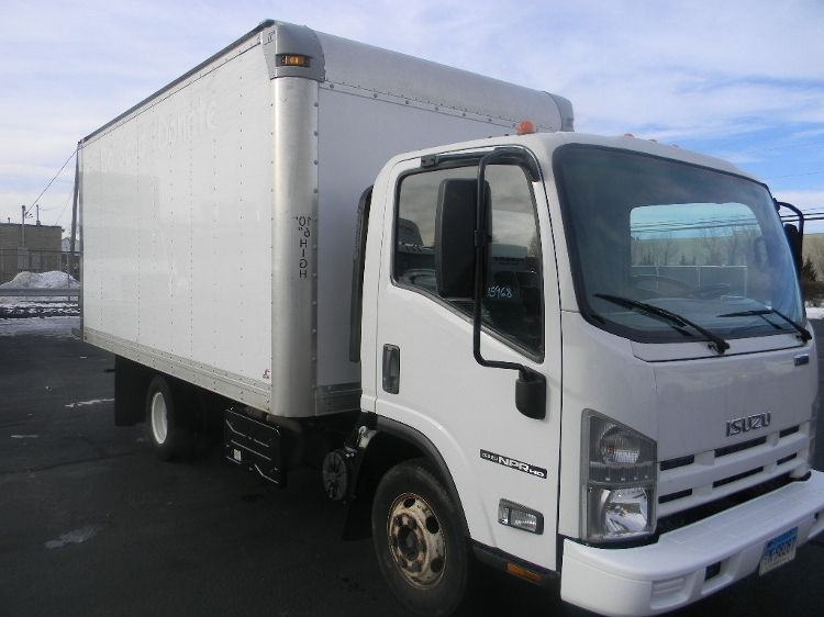 Medium Duty Box Truck-Light and Medium Duty Trucks-Isuzu-2014-NPR-WEST HAVEN-CT-121,817 miles-$23,750