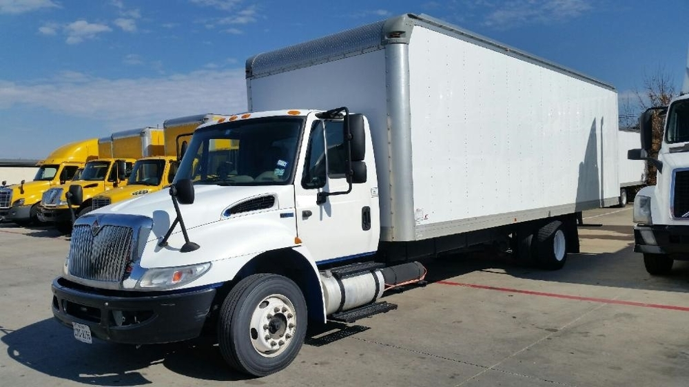 Medium Duty Box Truck-Light and Medium Duty Trucks-International-2014-4300LP-CARROLLTON-TX-109,147 miles-$30,750