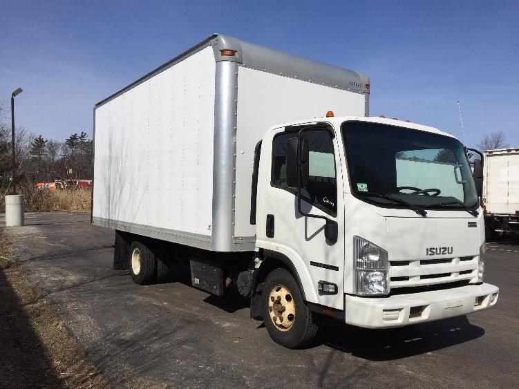 Medium Duty Box Truck-Light and Medium Duty Trucks-Isuzu-2014-NPR-AUBURN-MA-66,565 miles-$32,500