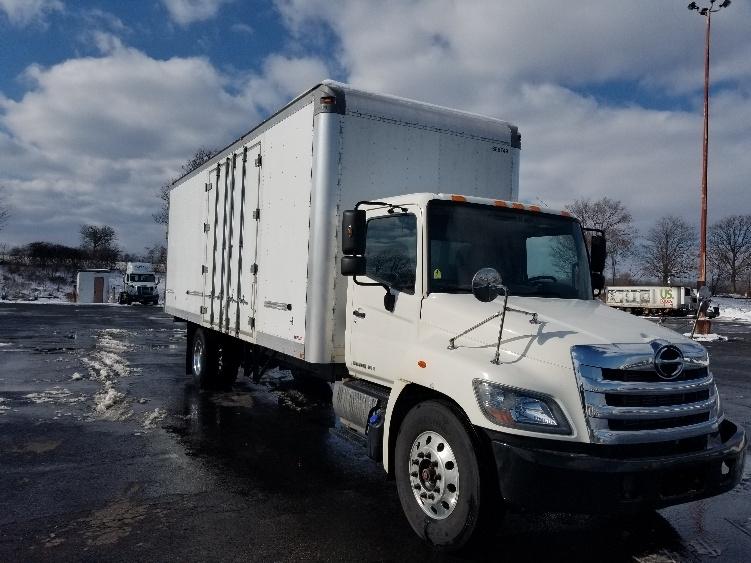 Medium Duty Box Truck-Light and Medium Duty Trucks-Hino-2014-268-WHITE DEER-PA-95,636 miles-$48,750