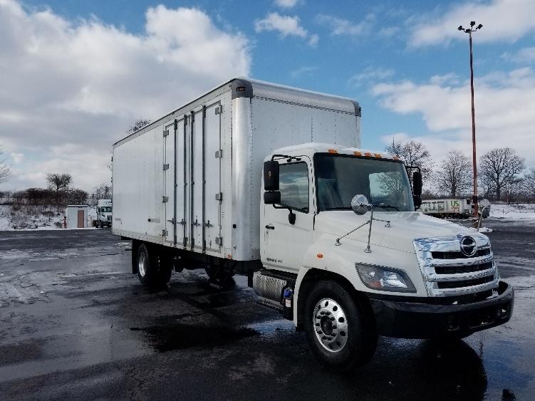 Medium Duty Box Truck-Light and Medium Duty Trucks-Hino-2014-268-WHITE DEER-PA-96,868 miles-$48,750