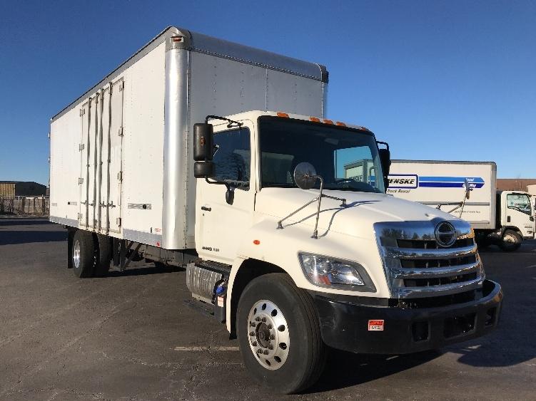 Medium Duty Box Truck-Light and Medium Duty Trucks-Hino-2014-268-SOUTH PLAINFIELD-NJ-138,082 miles-$44,500