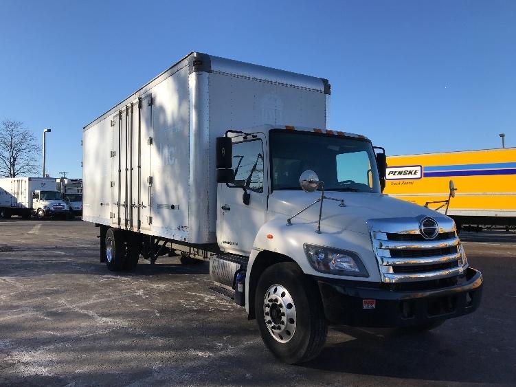 Medium Duty Box Truck-Light and Medium Duty Trucks-Hino-2014-268-SOUTH PLAINFIELD-NJ-142,315 miles-$44,250