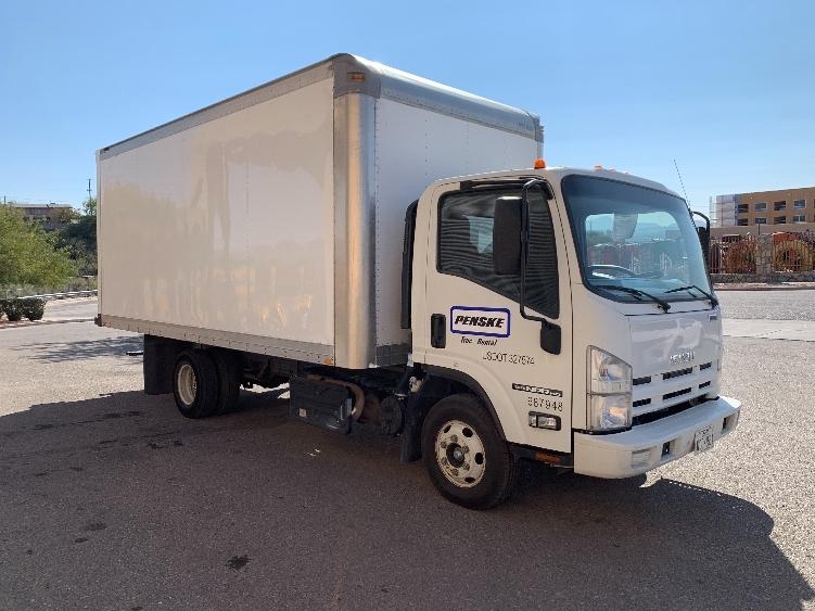 Medium Duty Box Truck-Light and Medium Duty Trucks-Isuzu-2014-NPR-EL PASO-TX-111,916 miles-$35,750