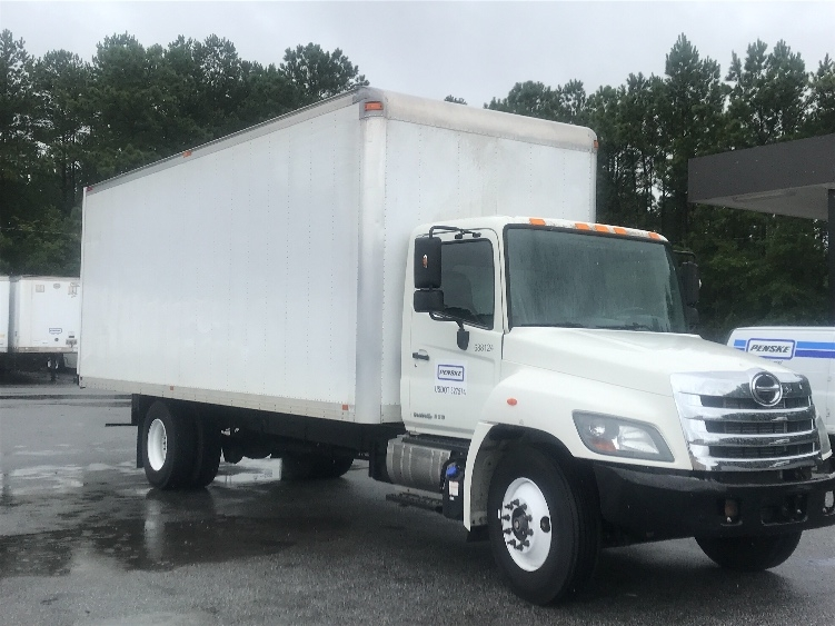Medium Duty Box Truck-Light and Medium Duty Trucks-Hino-2014-268-COLUMBUS-GA-122,247 miles-$50,750