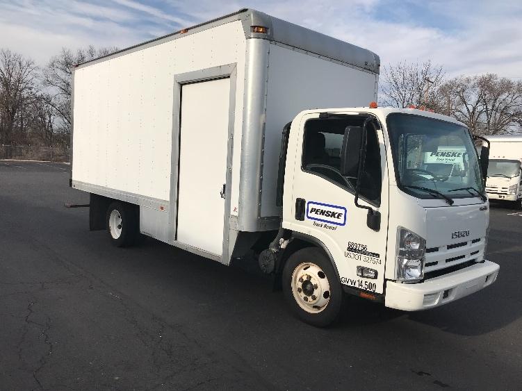 Medium Duty Box Truck-Light and Medium Duty Trucks-Isuzu-2014-NPR EFI-BENSALEM-PA-127,156 miles-$23,000