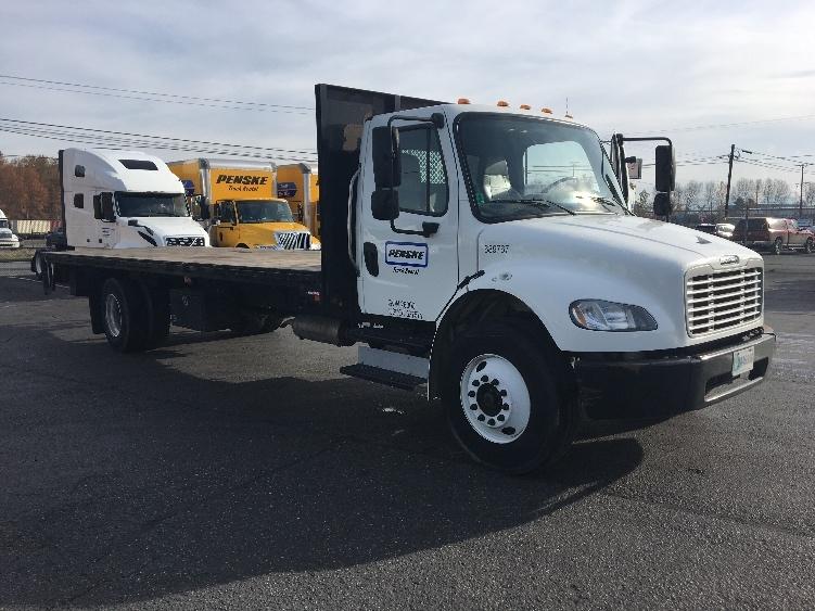Flatbed Truck-Light and Medium Duty Trucks-Freightliner-2014-M2-KENT-WA-101,079 miles-$39,750