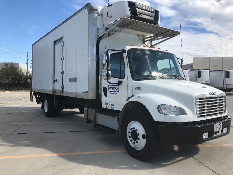 Reefer Truck-Light and Medium Duty Trucks-Freightliner-2014-M2-HOUSTON-TX-157,825 miles-$48,250