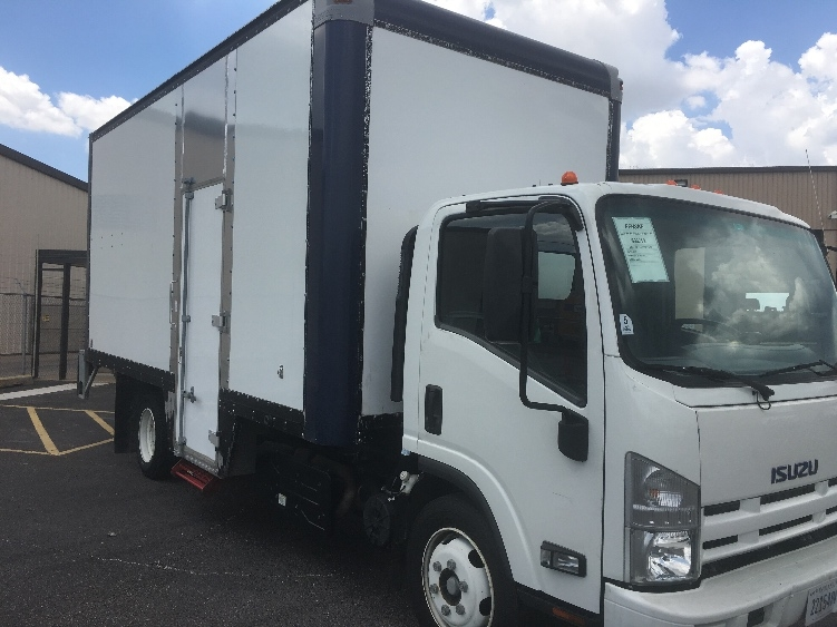 Medium Duty Box Truck-Light and Medium Duty Trucks-Isuzu-2014-NRR-DALLAS-TX-81,706 miles-$38,500