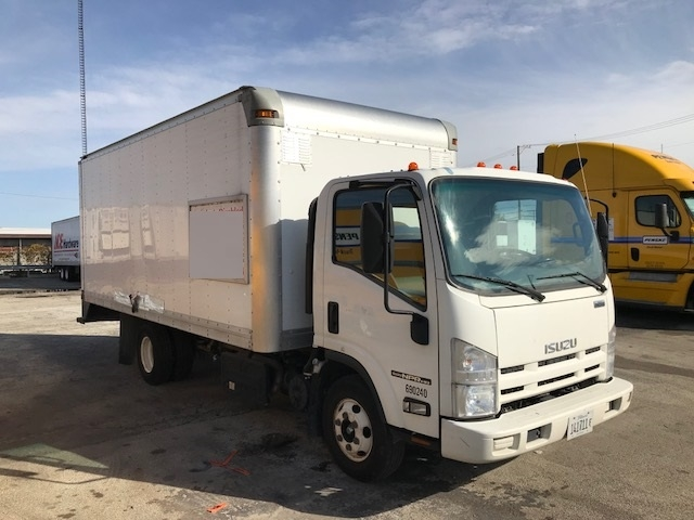 Medium Duty Box Truck-Light and Medium Duty Trucks-Isuzu-2014-NPR-CHICAGO RIDGE-IL-68,676 miles-$29,500