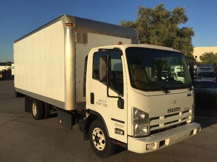 Medium Duty Box Truck-Light and Medium Duty Trucks-Isuzu-2014-NPR-PHOENIX-AZ-126,459 miles-$24,250