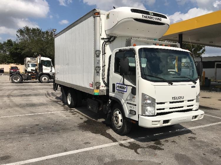 Reefer Truck-Light and Medium Duty Trucks-Isuzu-2014-NRR-LAKELAND-FL-140,564 miles-$36,750