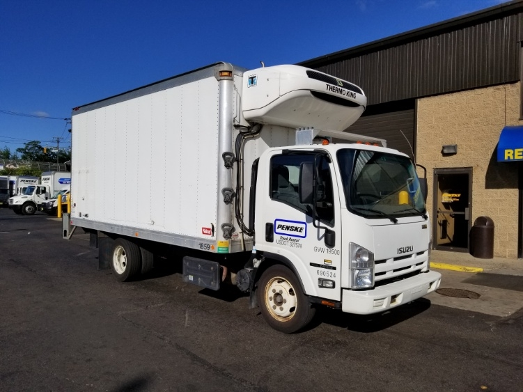 Reefer Truck-Light and Medium Duty Trucks-Isuzu-2014-NRR-NORTH BERGEN-NJ-86,937 miles-$35,000