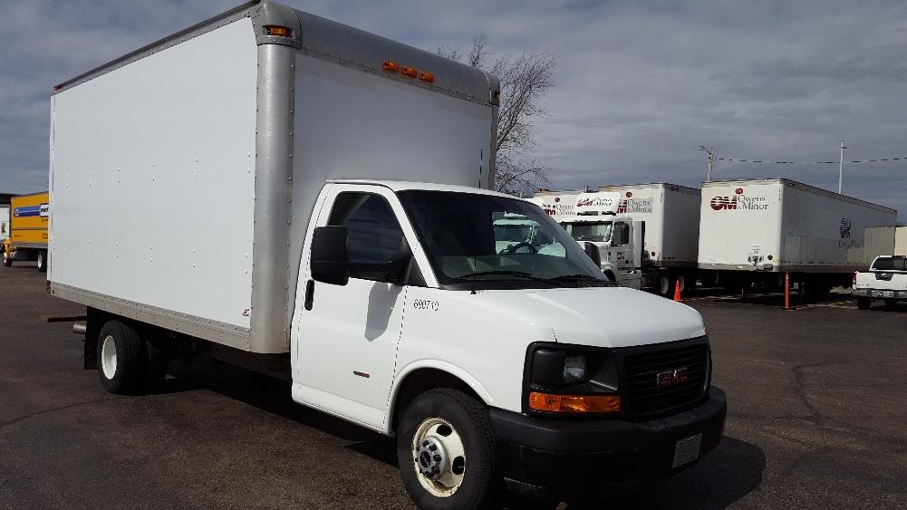 Light Duty Box Truck-Light and Medium Duty Trucks-GMC-2014-Savana G33903-MADISON-WI-158,405 miles-$19,500