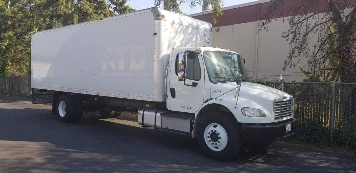 Medium Duty Box Truck-Light and Medium Duty Trucks-Freightliner-2014-M2-KENT-WA-243,412 miles-$35,250