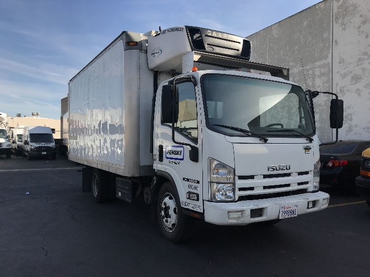 Reefer Truck-Light and Medium Duty Trucks-Isuzu-2014-NQR-TORRANCE-CA-122,495 miles-$38,000