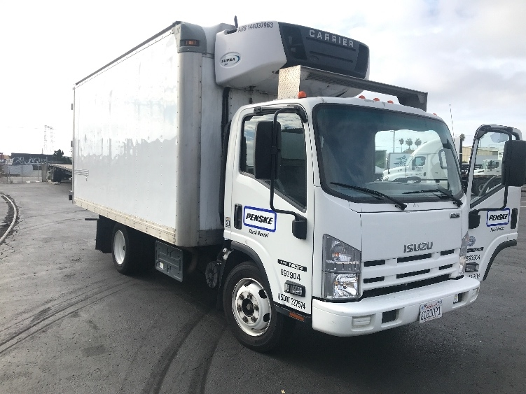 Reefer Truck-Light and Medium Duty Trucks-Isuzu-2014-NQR-TORRANCE-CA-107,043 miles-$35,500