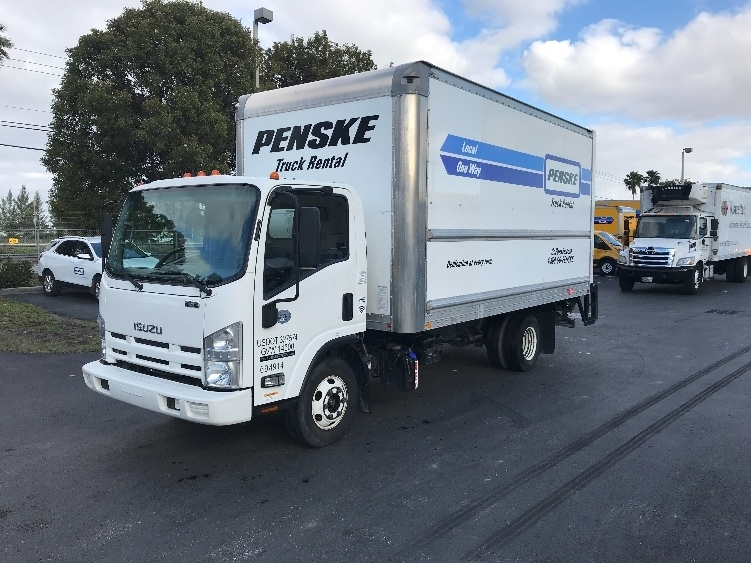 Medium Duty Box Truck-Light and Medium Duty Trucks-Isuzu-2015-NPR-MEDLEY-FL-99,016 miles-$34,250
