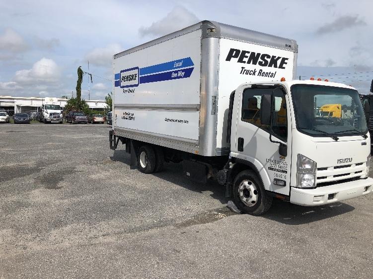 Medium Duty Box Truck-Light and Medium Duty Trucks-Isuzu-2015-NPR-PHILADELPHIA-PA-102,575 miles-$29,500