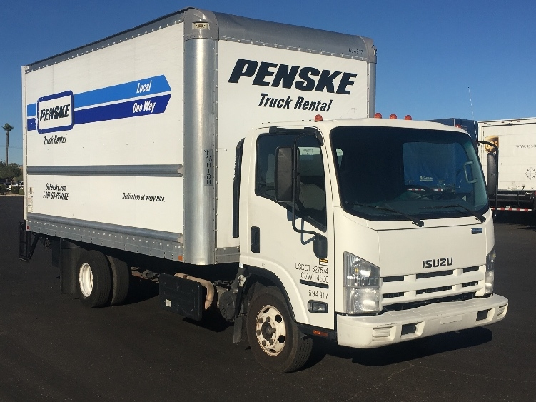 Medium Duty Box Truck-Light and Medium Duty Trucks-Isuzu-2015-NPR-PHOENIX-AZ-100,535 miles-$35,750