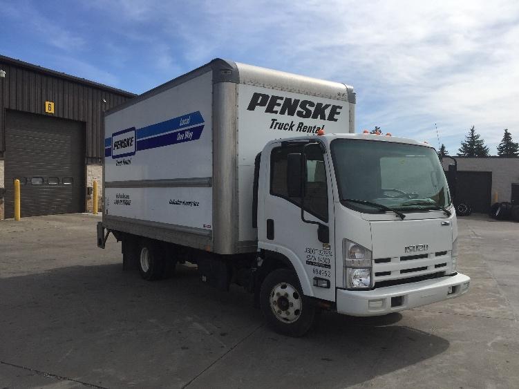 Medium Duty Box Truck-Light and Medium Duty Trucks-Isuzu-2015-NPR-OAKWOOD VILLAGE-OH-104,967 miles-$35,250