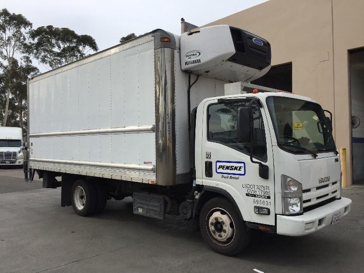 Reefer Truck-Light and Medium Duty Trucks-Isuzu-2015-NQR-TORRANCE-CA-121,335 miles-$51,250