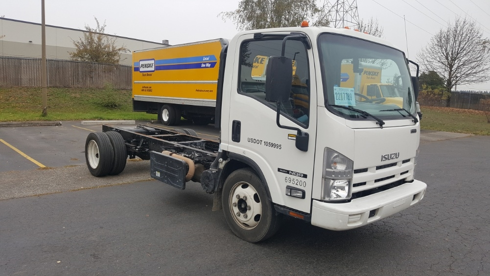 Cab and Chassis Truck-Light and Medium Duty Trucks-Isuzu-2014-NQR-WILSONVILLE-OR-104,359 miles-$35,000