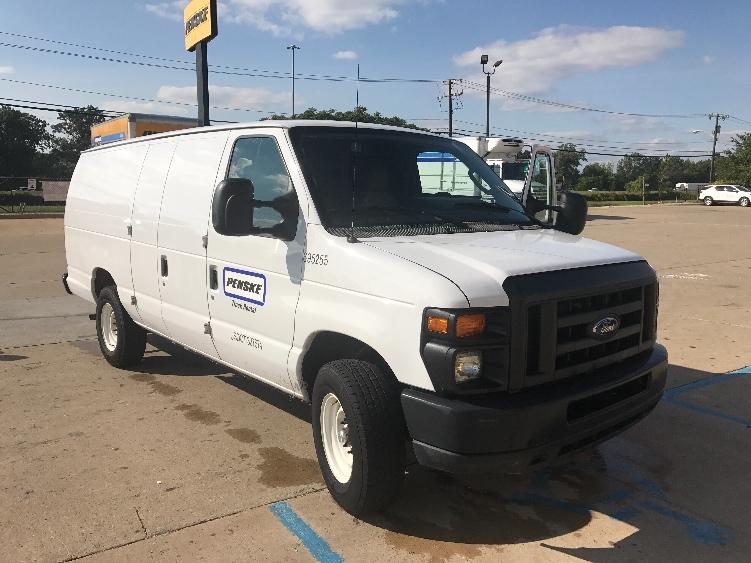 Cargo Van (Panel Van)-Light and Medium Duty Trucks-Ford-2014-E250-ALLEN PARK-MI-51,737 miles-$21,250