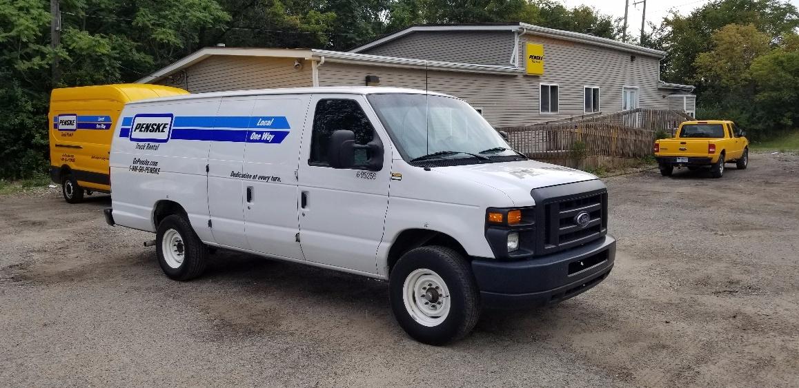 Cargo Van (Panel Van)-Light and Medium Duty Trucks-Ford-2014-E250-ALLEN PARK-MI-86,799 miles-$17,750