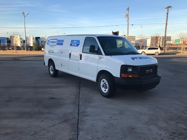 Cargo Van (Panel Van)-Light and Medium Duty Trucks-GMC-2014-Savana G23705-OKLAHOMA CITY-OK-76,418 miles-$19,500