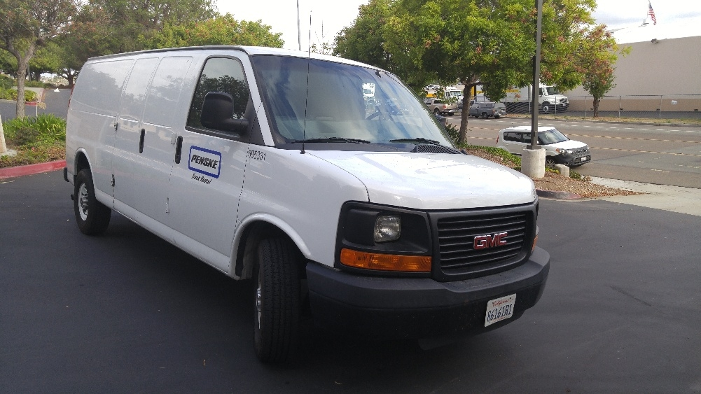 Cargo Van (Panel Van)-Light and Medium Duty Trucks-GMC-2014-Savana G23705-TORRANCE-CA-89,294 miles-$19,250