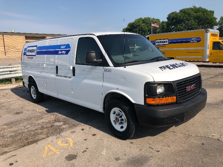 Cargo Van (Panel Van)-Light and Medium Duty Trucks-GMC-2014-Savana G23705-OMAHA-NE-89,823 miles-$18,500