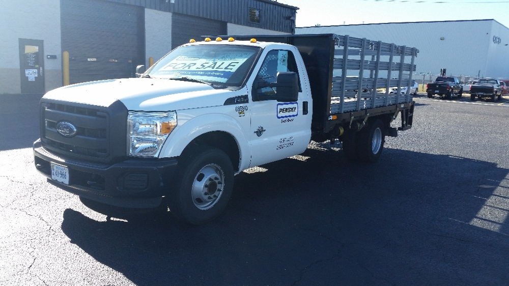 Flatbed Truck-Specialized Equipment-Ford-2014-F350-CHESAPEAKE-VA-38,498 miles-$33,250